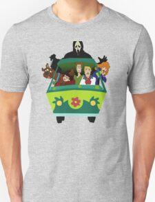 Scream-Scooby Doo Unisex T-Shirt