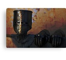 The Spirit of the Knight Canvas Print