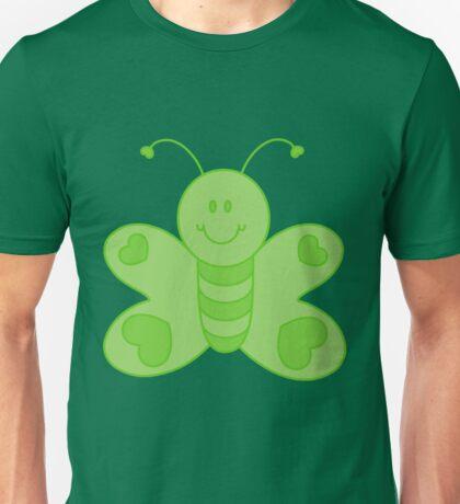 Green Butterfly Unisex T-Shirt