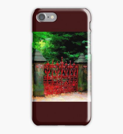Strawberry Field iPhone Case/Skin