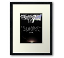 Mind Eclipse Framed Print