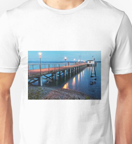 Hagnau Jetty just after Sundown - Lake Constance Unisex T-Shirt