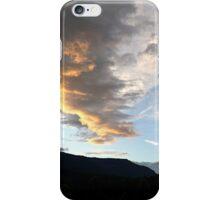 Evening Clouds Cowlitz River iPhone Case/Skin