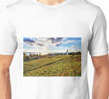 Sunset over Grape Orchards near Hagnau - Lake Constance Unisex T-Shirt