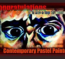 Contemporary Pastel Painters Banner by DreddArt