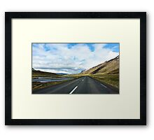 Empty Roads  Framed Print