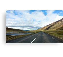 Empty Roads  Canvas Print