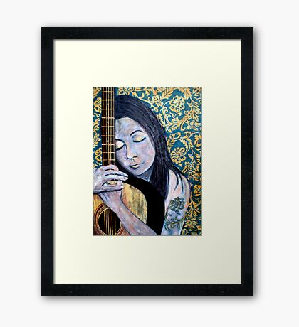 """SOULFUL THOUGHTS"" Framed Print"