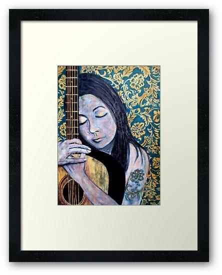 """SOULFUL THOUGHTS"" by Belinda ""BillyLee"" NYE (Printmaker)"
