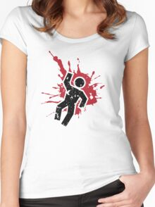 Adios! Women's Fitted Scoop T-Shirt