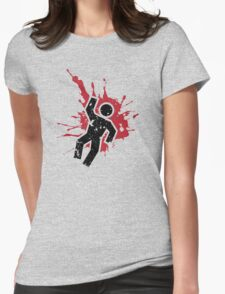 Adios! Womens Fitted T-Shirt