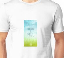 Everything Is Music - Summer Day iPhone Case Unisex T-Shirt