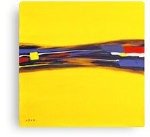 YELLOW RUSH Canvas Print