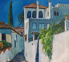 Albaicin, Granada by caseymacdonald