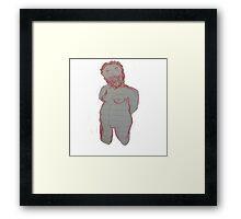 Boob Man Framed Print