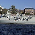 HMAS ANZAC by Ricky Pfeiffer