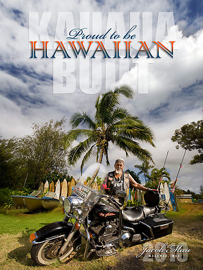 Proud to be Hawaiian by Ken Wright