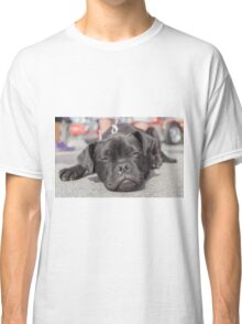 The tired puppy Classic T-Shirt