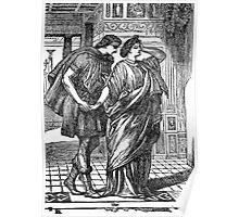 Scene from Shakespear's A Midsummer Night's Dream Poster