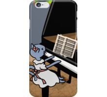 Kitty Piano Practice iPhone Case/Skin