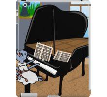 Kitty Piano Practice iPad Case/Skin