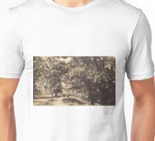 Looking South Along The River Bank Unisex T-Shirt
