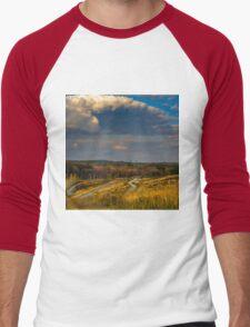 Millennium Park, West Roxbury Men's Baseball ¾ T-Shirt