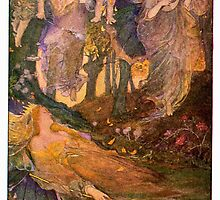 Scene from Shakespear's A Midsummer Night's Dream by touco57