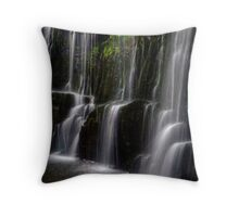 Guide Falls, Tasmania Throw Pillow