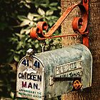 Just Call Me Chicken Man! by pat gamwell