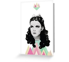 Dorothy //triangles Greeting Card