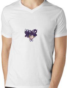 Head Logo Only Mens V-Neck T-Shirt