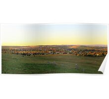 Canowindra Sunset Poster