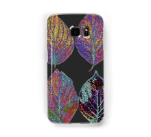 Glowing Pattern of Leaves Samsung Galaxy Case/Skin