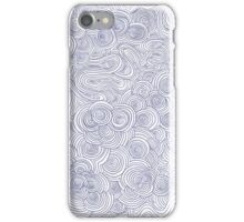 Blue Biro Pattern iPhone Case/Skin