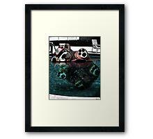Bear Bobber Framed Print