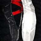 Satin Shoes by Dawn Bigford