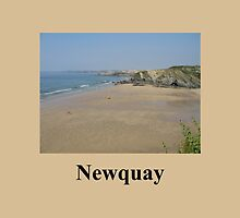 Newquay Beach - Cornwall /England by Jacqueline Turton