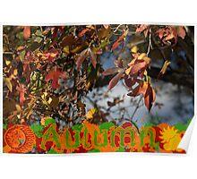The Hallmarks Of Autumn Poster