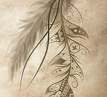 Bohemian Feather by LouJah-