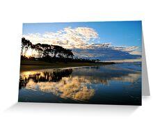 Moore Park Beach Queensland Greeting Card