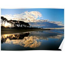 Moore Park Beach Queensland Poster