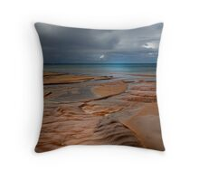 Storm Incoming Throw Pillow