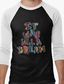 NOTORIOUS B.I.G. IT WAS ALL A DREAM GRAPHIC T SHIRT Men's Baseball ¾ T-Shirt
