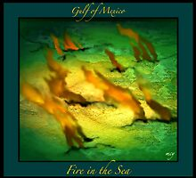 Gulf of Mexico Dream Vision Third of Three Fire in the Sea by mcyoung