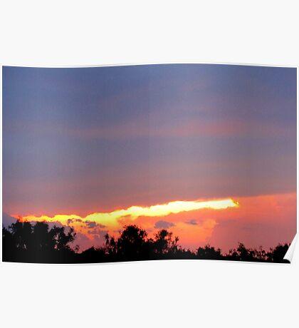 sunset,6/15/10 Poster