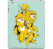 The Three Bears iPad Case/Skin