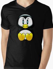 penguin t-shirt Mens V-Neck T-Shirt