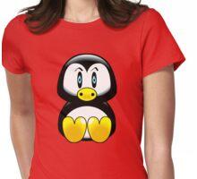 penguin t-shirt Womens Fitted T-Shirt