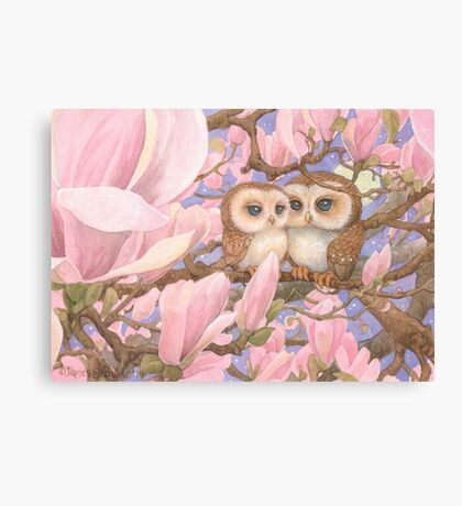 Love Owls Canvas Print